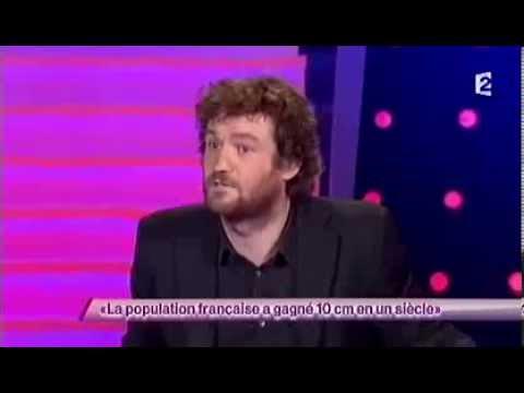 Olivier De Benoist [56] La population française gagne 10 cm en un siècle #ONDAR