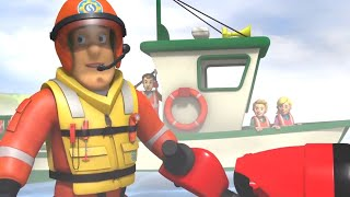 Fireman Sam US 🚒Boat Rescue 🚤 Best Rescue Compilation 🔥Kids Movie