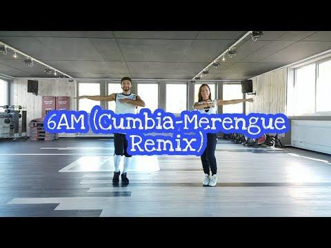 J.Balvin ft. Farruko - 6AM (Cumbia-Merengue Remix) // Choreo by Flurim & Anka // ZUMBA