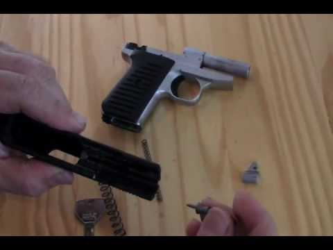 Jimenez Arms .380 How it works with Breakdown and re-assembly