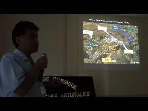 2 Armando Castellanos, técnico de EcoCiencia, expone sobre área de vida tapires.MP4