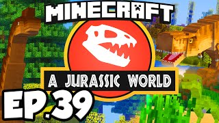 Jurassic World: Minecraft Modded Survival Ep.39 - JURASSIC PARK ANNOUNCEMENT!!! (Rexxit Modpack)