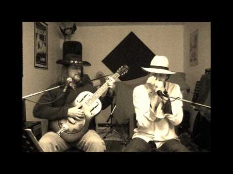 Living with the blues - Brownie McGhee - National ResoPhonic Triolian - Luca Menti and Ariberto Osio