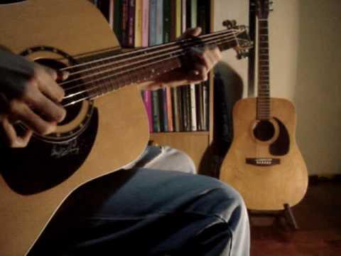 Lightnin ' Hopkins ( Blues Guitar Style )