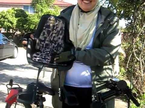 Bobike Mini Front Child Bike Seat Review Youtube