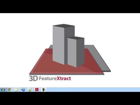 3D FeatureXtract - Input and Setup Aerial Imagery