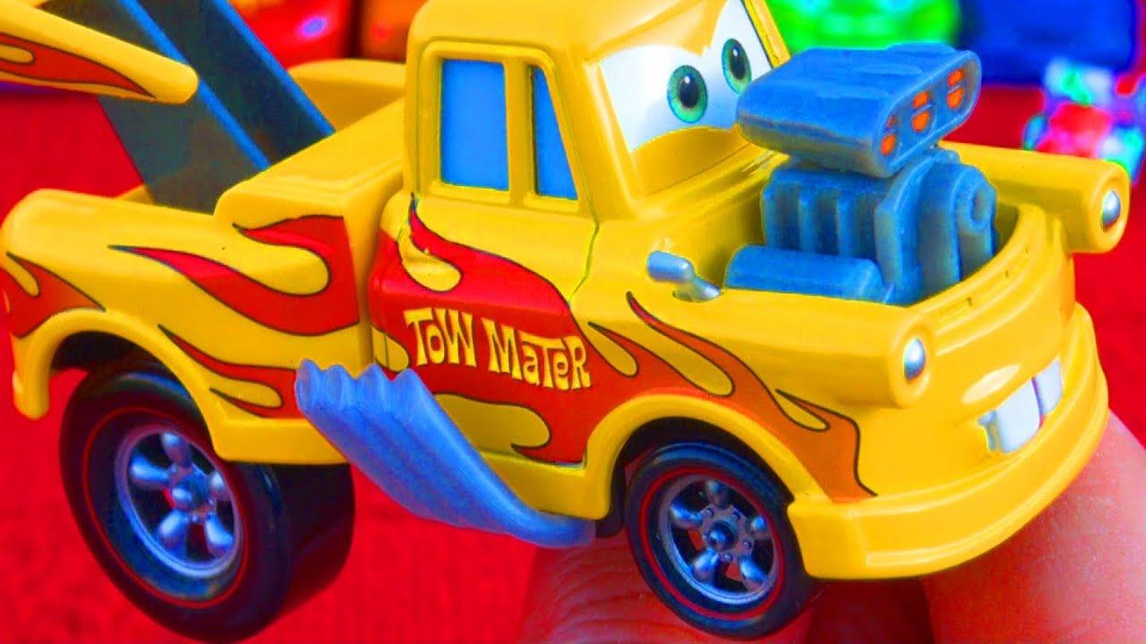 Toy Car Racing >> Cars 2 Funny Car Mater Drag Racing diecast VS Drag Star Mater Mattel Toys Disney Pixar Toy ...