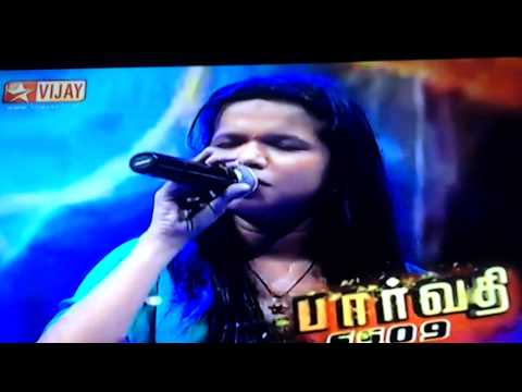 Parvathy singing chinne thai aval