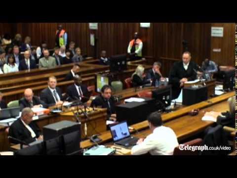 Oscar Pistorius trial: athlete 'torn apart' by shooting, says neighbour