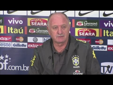England v Brazil - Scolari looks ahead to England friendly