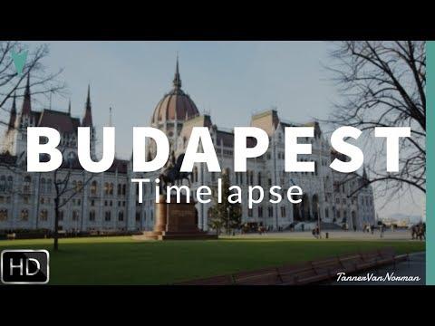 Budapest is GORGEOUS! | 1 Min Timelapse FULL HD