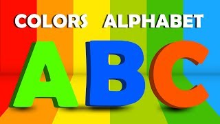 Learning Colors, Alphabet and Numbers with Chicks and ABCD Alphabet Song | Happy Snappy TV