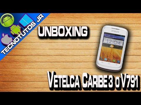 Unboxing - Vtelca Caribe 3 o V791