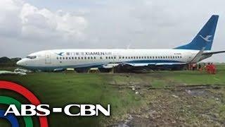 ALAMIN: Paano tinanggal ang eroplano ng Xiamen Air mula sa NAIA runway?