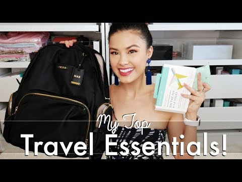 MY TOP TRAVEL ESSENTIALS | What's in my Carry-on? + I'm going to Korea!