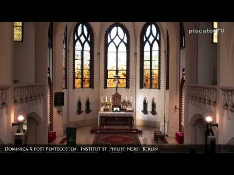 Dominica X post Pentecosten 01 Organ - Traditional Latin Mass