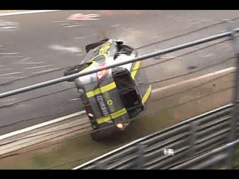 Nürburgring 2016 Big Crash & Fail Compilation Nordschleife Touristenfahrten VLN 24H