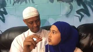 Sheikh said Rage enjoying and asking Wonderful Questions his daughter  BEST SOMALI FATHER EVER