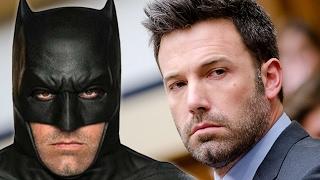 Ben Affleck fora dos filmes do Batman?