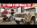 42 Yıllık 0 Km Murat 124 ve Murat 131