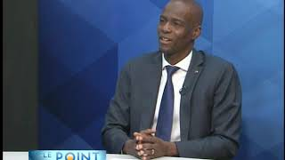 VIDEO: Haiti President Jovenel Moise interview - Le Point on Tele Metropole