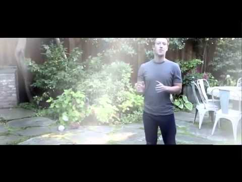 Mark Zuckerberg Accepts Ice Bucket Challenge Official video HD