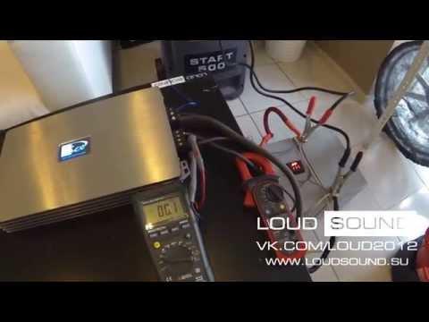 [Kicx QS-1.600] vs [Magnum M800D] - тест усилителей