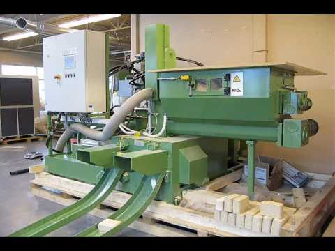 RUF Biomass Briquetting Machine - MDF and Sawdust