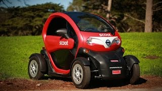 Car Tech - The Scoot Quad: This Twizy puts the city in reach