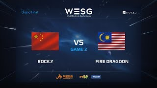 download musica RockY против Fire Dragoon Вторая карта WESG 2017 Grand Final