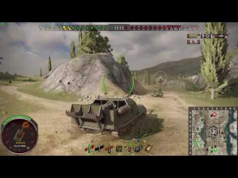 World of tanks PS4 - Obj. 263 Master 8k DMG