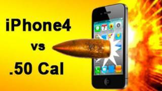 iPhone 4 vs .50 Cal Sniper Rifle iPhone 4s_ Tech Assassin RatedRR