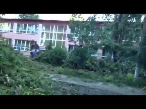 Разрушительный Ураган в Одессе