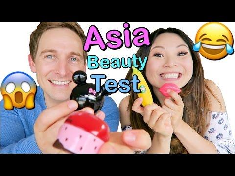 VERRÜCKTE asiatische Beauty Produkte Live Test