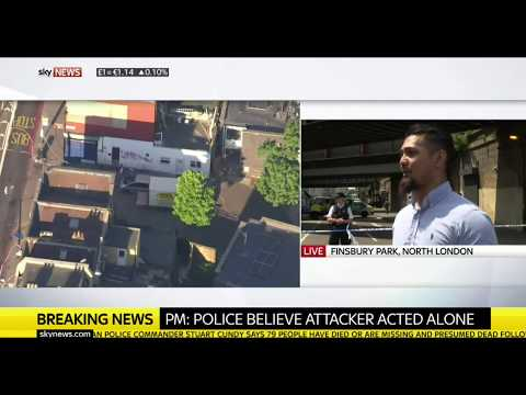 Finsbury Park attack: Dilly Hussain speaks to Sky News