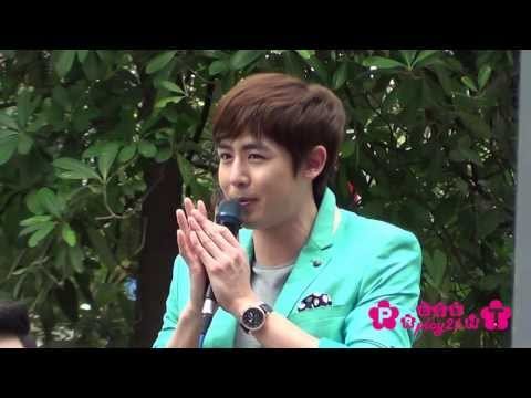 131216 Nichkhun Brand Event at United Buildings Silom