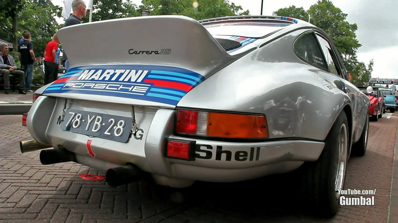 martini racing porsche 911 2 7 carrera rs great cracking sound youtube. Black Bedroom Furniture Sets. Home Design Ideas