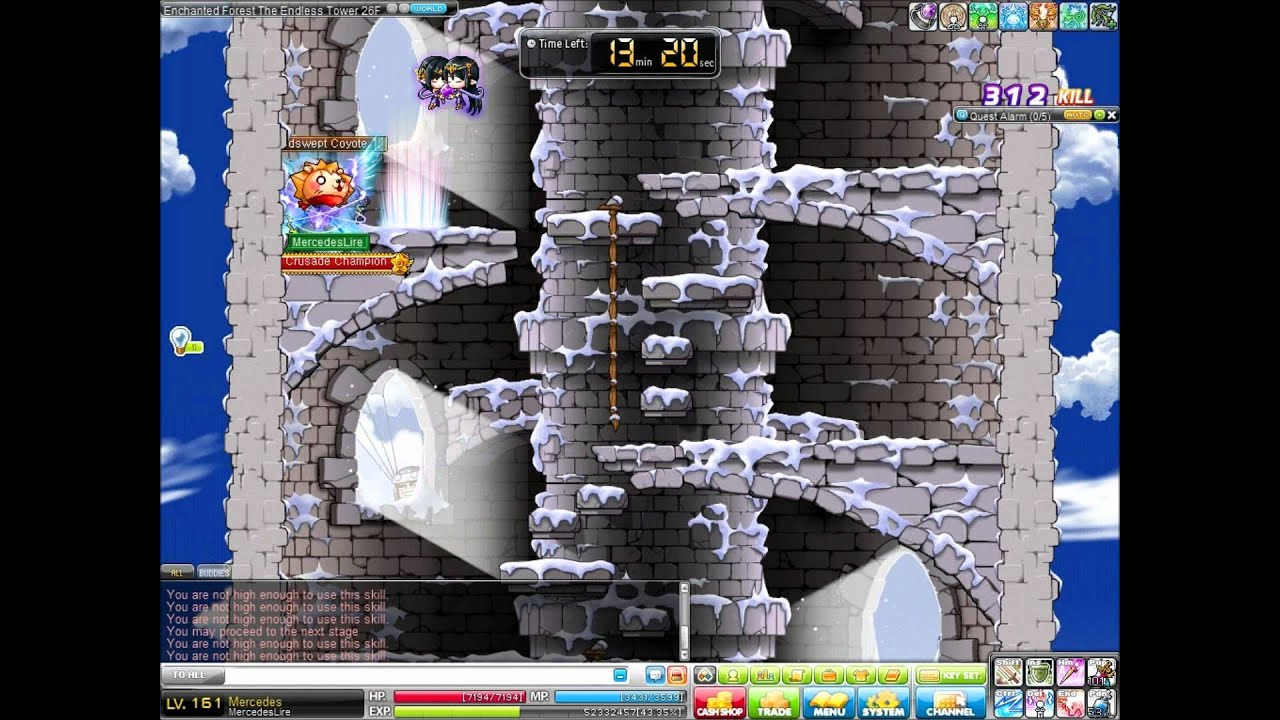 Maplestory Enchanted Forest The Enchanted Forest {the