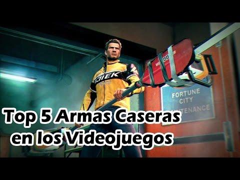 Top 5 Armas Caseras en los Videojuegos
