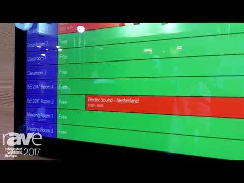 ISE 2017: CUE Talks About TouchONE Reception Room Overview
