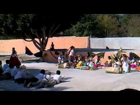 Escenificacion de la Revolución Mexicana, La Ventilla V. De Reyes 4to grado de primaria oct 2010