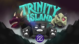 Minecraft:  ELDER GUARDIAN FIGHT! - Trinity Island (Hardcore) - [22]