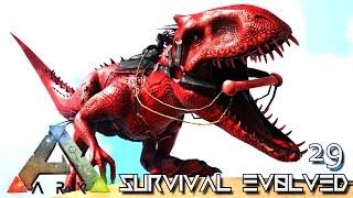 ARK: SURVIVAL EVOLVED - INDOMINUS REX ARMY BEGINS !!! E29 (MODDED ARK PUGNACIA DINOS)