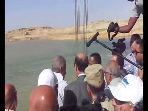 Suez Canal :: Mahlab new dredging work continues in the fourth day of Eid al-Adha