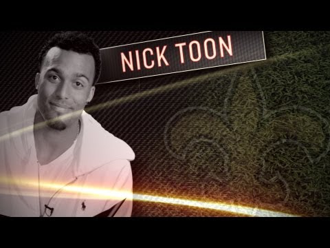 Nick Toon Interview - Saints Rookie WR