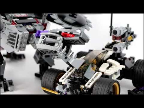 LEGO Ninjago Nindroid Mechdragon REVIEW 70725 Ninjago 2014