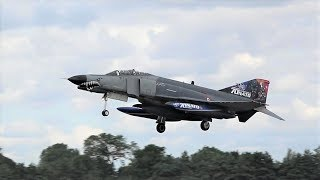 RIAT Arrivals Day 2 - Great array of aircraft, colours & countries!
