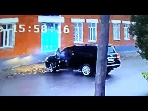 Расстрел имама в Хасавюрте - видео с камеры наблюдения