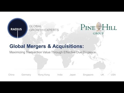 Global Mergers & Acquisitions: Maximizing Transaction Value Through Effective Due Diligence