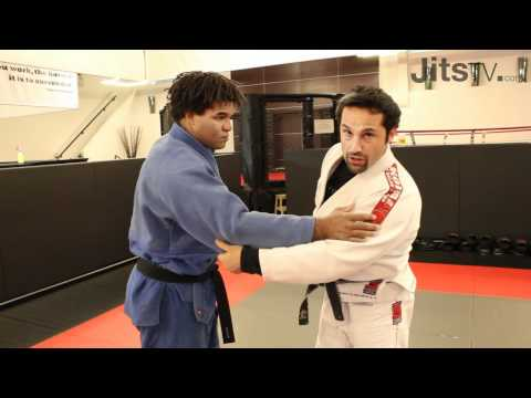 Takedowns for BJJ - Yoko Tomoe Nage - Joel Gerson Part 1 - Jits Magazine Image 1